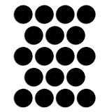 18 aimants ronds adhésifs 1,9 cm