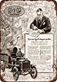 1916GMC Trucks pour plus gros bénéfices Look Vintage Reproduction en métal signes 30,5x 40,6cm