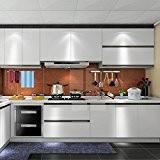 1er UNION CA 0.61*5M Auto-Adhésif Stickers de Cabinet en Top Qualité PVC Rouleau de Papier Autocollant pour Meubles / Cuisine ...