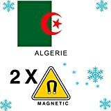2 x Magnet Frigo AIMANT Magnétique pays ALGERIE