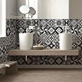 36 carrelage 15x15 cm - PS00101 PVC autocollants carreaux pour salle de bains et cuisine Stickers design - Alger