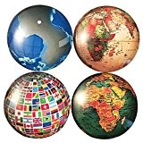 4-Pack Mappemonde Frigo Magnet Pays Drapeau Bureau Aimants Éducation Précoce