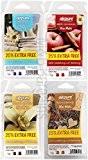 4x Lot de 8(86G) airpure Tartelettes en cire fond (Lin frais, Vanille française, pâtisseries Maison, Apple Cannelle)