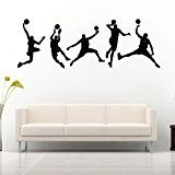 45X126CM Jouer Basketball Stickers muraux amovibles Sport Decal Accueil Chambre Wall Sticker DŽcor