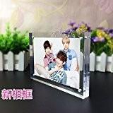 """6x8"""" Tableau Cadre Plexiglass Magnetique,Acrylique Cadre Photo avec Fermeture Magnetique,Transparent …"""