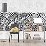 81 carrelage 10x10 cm - PS00091 PVC autocollants carreaux pour salle de bains et cuisine Stickers design - Cordoba