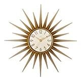 Acctim 21760 Stella - Horloge murale dorée en forme d'étoile