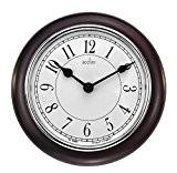 Acctim 24586 Newton Horloge murale (Bois foncé)
