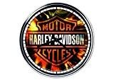 acier horloge murale Harley Davidson