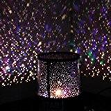 Aeeque Romantique [Noir] Lampe LED Master ciel étoile Étoilées mini étoiles Projecteur [avec câble USB] Enfants Lampe de Chevet Maison ...
