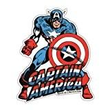 Aimant de réfrigérateur Captain America - aimant de frigo Marvel Comics - magnet Super-héroes - en forme - Design original ...