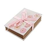 Album Photo Papier en Accordéon Décor de Fleur Sakura Rose pour Scrapbooking Artisanat Diy Cadeau Enfant - Rose 2, 16,5 ...