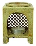 Aromathérapie Parfum Huile Cire De Support De Diffuseur Photophore Chaud Brûleur De Marbre Décoration De La Maison Coffret Cadeau
