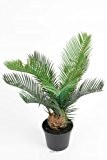 Artificielles - Palmier cycas artificiel en pot h 35 cm superbe