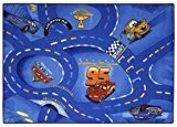 Associated Weavers Kids Corner RWOCAGA77095133T06 Tapis de sol Disney Cars Bleu 95 x 133 cm
