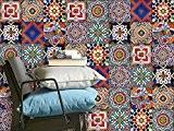 Autocollant Carreau murale | Adhésif vinyle - PVC Sticker pour décorer faïence salle de bain et dosseret cuisine | Revêtement ...