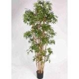 Bambou artificiel, 2410 feuilles, 180 cm, résistant aux intempéries - Faux bambou / Arbre artificiel - artplants