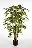 Bambou artificiel HIROSHI, 960 feuilles, vert, 150 cm - Faux bambou / Arbre artificiel - artplants