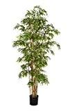 Bambou artificiel - Pseudosasa japonica KAITO, 2355 feuilles, vert, 140 cm - Faux bambou / Arbre artificiel - artplants