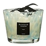 Baobab max10ps Pearls Sapphire Bougie en cire Bougie, 10 x 7 x 10 cm