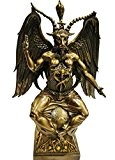 Baphomet Bronzed Figurine Satanic Demon Occult Goat of Mendes Statue by Nemesis Now