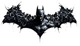 Batman Arkham Origins Batman Logo personnages V1 Sticker mural autocollant Art Poster Taille 1000 mm de haut x 600 mm de large (Grand)