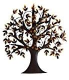 Benzara 13862 arbre de vie Decor Metal Wall Art Sculpture PO 31 x 29.