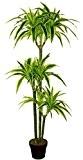 Best Artificial 150cm 5cm Dracaena Dragon Arbre Bureau extérieur intérieur Véranda jardin Tropical Plante