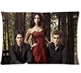 Best cadeau personnalisé Vampire Diaries Taie d'oreiller coton Taille 20x 30Deux Côtés par Fashion Taie d'oreiller