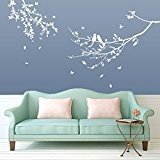 Bird & Tree Wall Decorations Window Stickers Wall Decor Wall Stickers Wall Art Wall Decals Stickers Wall Decal Decals Mural ...