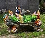 Blanche-neige et les 7 nains 13018 otto müller nain de jardin 27 cm gMMH nain de jardin design différents