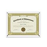 BOJIN Cadre Photo A4 Acrylique à suspendre et à poser horizontalement verticalement Marriage Famille Dessin Art Certificat Diplôme