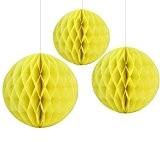 Boules en papier Nid d'abeille 15cm 20cm mariage Table boules de Nid d'Abeille pour décorations Parti de mariée douche Jardin ...