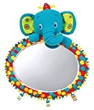 Bright Starts Miroir Auto Eléphant en Peluche