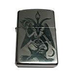 Briquet Lighter BAPHOMET - TEMPLIER - Pentagramme Pentacle