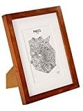 Cadre 20x25 cm en Bois MASSIF - pour Photos 20 x 25 cm - Passe-Partout pour Photos de 13x18 cm ...