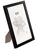 Cadre A4 en bois MASSIF - pour Dessins / Affiches / Posters / Diplômes 21x29,7 cm - Passe-Partout pour Photos ...