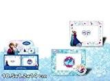 Cadre photo en bois la Reine des Neiges Frozen Disney 1835x1.2x14cm * Modèle aléatoire (Blanc ou bleu) * NEUF *