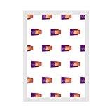 Cadre Photo Fin Couleur Blanc lustré, A3 Dimension, 29.7 x 42 cm
