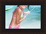 Cadres photos pêle mêle multivues Noir 1 photo(s) 60x40 Passe Partout, Cadre photo mural 70x50 cm Marron Elégant, 3.3 cm ...