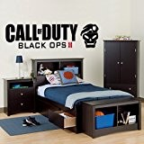 Call of Duty Black Ops 2 - Wall Decal Art Sticker boy's bedroom playroom hall (Large) by Wondrous Wall Art