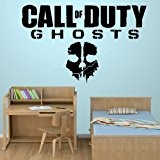 Call Of Duty Ghosts - Wall Decal Art Sticker boy's bedroom playroom hall (Medium) by Wondrous Wall Art