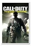 Call Of Duty Poster Guerre Infinite Tableau mémo en liège broches Blanc encadrée–96,5x 66cm (environ 96,5x 66cm)