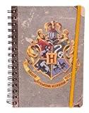 Carnet A5 Harry Potter blason de Poudlard