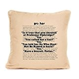 Carnet avec citation Harry Potter Coussin cadeau 'Isit vrai que vous Shouted à M. Umbridge...'