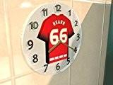 Ciel Bet Deux de la Ligue Football Ligue–Kit de Football Horloge murale–N'importe Quel Nom, n'importe quel Nombre, n'importe quelle équipe–Équipe ...