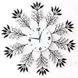CNBBGJ Grande horloge murale en fer, la mode moderne horloge de salon, de l'ameublement, sourdine réveil, réveil personnalisé art diamond, ...