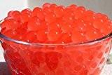 Corail rouge 5 paquets de 10g eau Aqua Cristal sol Bio Gel Boule Perles mariage Vase Centerpiece