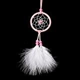 Creative mini pendentif rose ornements voiture décoration maison fait main pure Dream Catcher Cadeaux de fête