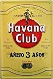 Cuba Havana Club rhum Motif signe d'acier (Jaune) (hi 2030)